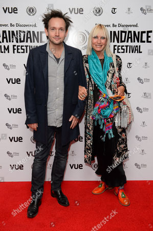 Will Bates and Virginia Bates arrive for the Raindance Film festival Opening Gala of I Origins at a central London cinema, London