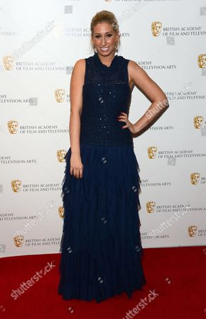 Stacey Soloman seen arriving at the British Academy Children's Awards at the Hilton Park Lane, in London