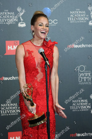 Stock Picture of Julie Marie Berman seen at The 40th Annual Daytime Emmys Awards Press Room, on Sunday, June, 16, 2013 in Beverly Hills