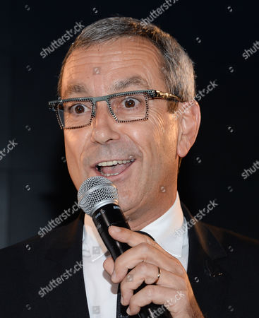 Grey Goose Maitre de Chai, Francois Thibault attends the Grey Goose Vodka and Virgin Galactic global partnership announcement event at the Rose Center for Earth & Space, in New York