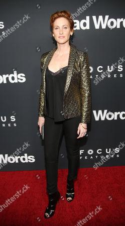 """Judith Hoag arrives at LA Premiere of """"Bad Words"""" on in Los Angeles, Calif"""