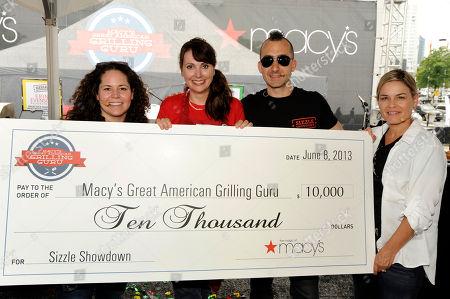 Editorial photo of Macy's Great American Grilling Guru Contest, Atlanta, USA