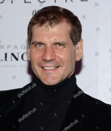 """Alexei Yashin attends a pre-release special screening of """"Spectre"""", hosted by Champagne Bollinger with The Cinema Society, at the IFC Center, in New York"""