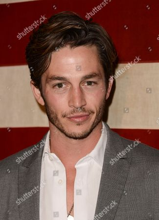 Actor Bobby Campo arrives at the NYLON November issue party at the Sunset Marquis hotel on in West Hollywood, Calif