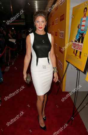 """Jessica Lindsey attends the Pantelion Films' """"Instructions Not Included"""" Los Angeles Premiere, on Thursday, August, 22, 2013 in Los Angeles"""