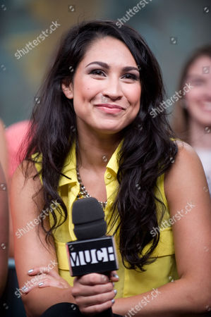 """Actress Cassie Steele visits New.Music.Live. at the MuchMusic HQ to promote the second season of """"The L.A. Complex"""", in Toronto"""
