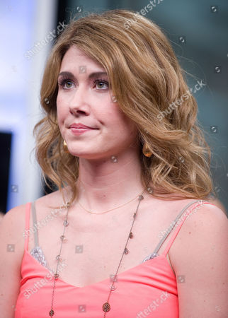 """Actress Jewel Staite visits New.Music.Live. at the MuchMusic HQ to promote the second season of """"The L.A. Complex"""", in Toronto"""