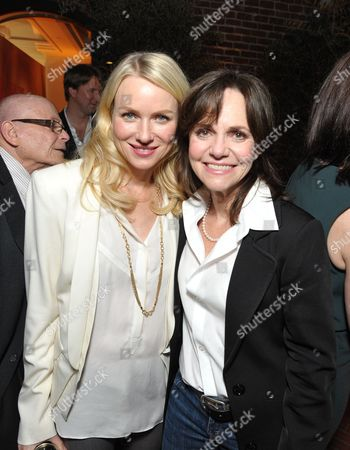Naomi Watts, left, and Sally Field attendsThe Hollywood Reporter Nominees' Night at Spago, in Beverly Hills, Calif