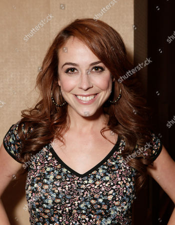 Host Shira Lazar attends the YouTube Channels' AwesomenessTV and WIGS TCA Panel at the Beverly Hilton, in Beverly Hills, California
