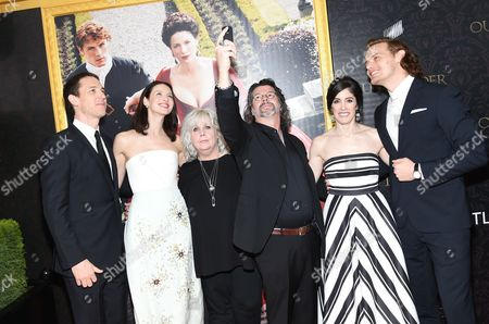 """Editorial image of """"Outlander"""" Book Two World Premiere and After Party, New York, USA"""