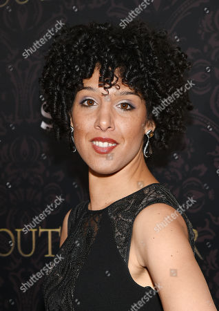 """Raya Yarbrough attends the """"Outlander"""" Book Two World Premiere and After Party at the American Museum of Natural History, in New York"""
