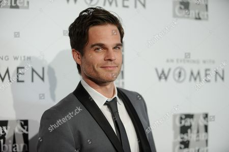 """Greg Rikaart arrives at the 2013 """"An Evening With Women"""" event at the Beverly Hilton Hotel on in Los Angeles"""