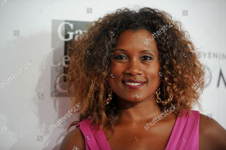 """Stock Photo of Janora McDuffie arrives at the 2013 """"An Evening With Women"""" event at the Beverly Hilton Hotel on in Los Angeles"""
