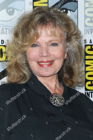 """Marta Kristen attends the """"Lost in Space"""" press line on day 2 of Comic-Con International, in San Diego"""