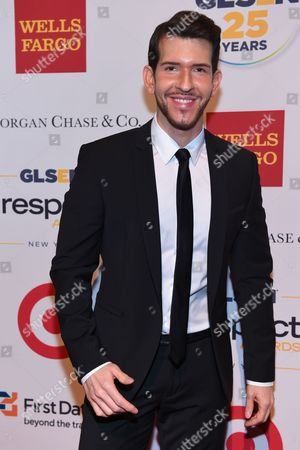 Editorial picture of 2015 GLSEN Respect Awards, New York, USA