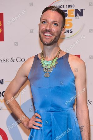 Jeffrey Marsh attends the 2015 GLSEN Respect Awards at Cipriani 42nd Street, in New York