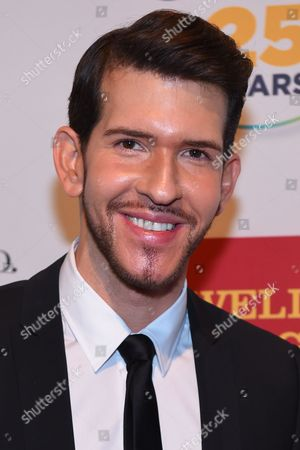 Stock Photo of Aiden Leslie attends the 2015 GLSEN Respect Awards at Cipriani 42nd Street, in New York