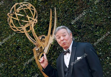 Frank Welker arrives at the Daytime Creative Arts Emmy Awards at the Westin Bonaventure Hotel, in Los Angeles