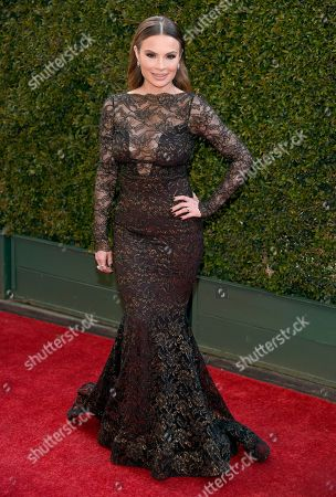 Lilly Melgar arrives at the Daytime Creative Arts Emmy Awards at the Westin Bonaventure Hotel, in Los Angeles