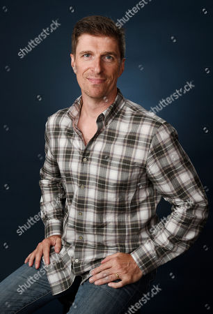 "Stock Picture of Chuck Hogan, co-creator, executive producer and writer of ""The Strain,"" poses for a portrait during the 2016 Television Critics Association Summer Press Tour at the Beverly Hilton, in Beverly Hills, Calif"