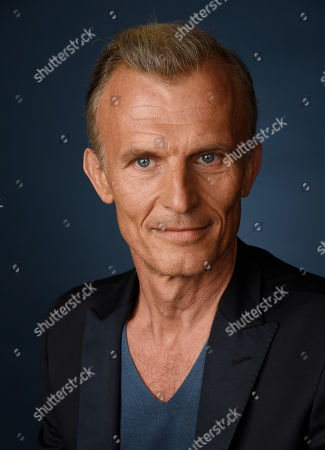 """Richard Sammel, a cast member in the FX series """"The Strain,"""" poses for a portrait during the 2016 Television Critics Association Summer Press Tour at the Beverly Hilton, in Beverly Hills, Calif"""