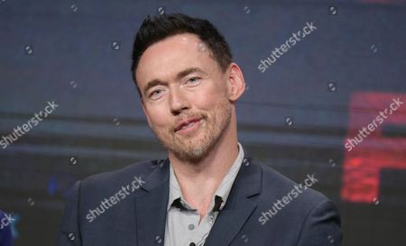 "Kevin Durand participates in ""The Strain"" panel during the FX Television Critics Association summer press tour, in Beverly Hills, Calif"