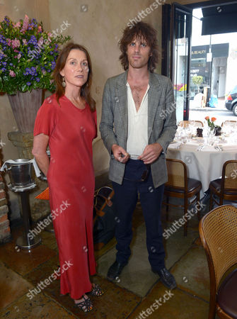 Jackson Scott and his mum Charlotte attend An Evening of Dinner & Dancing at Daphne's,, in London