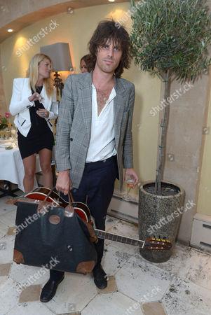 Jackson Scott attends An Evening of Dinner & Dancing at Daphne's,, in London