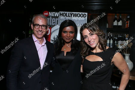 Editorial image of An Evening With Mindy Kaling to Celebrate Entertainment Weekly's New Hollywood Issue, Los Angeles, USA
