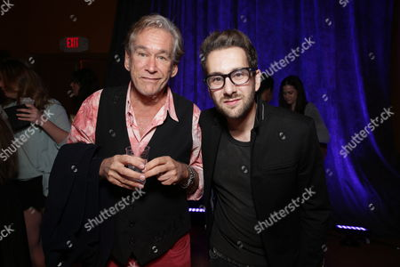 Stock Picture of Bill Champlin and Will Champlin seen at ASG Music Group Launch Party - A Joint Venture Between Alcon Entertainment and Sleeping Giant Media at The Village Recorder Studio, in Los Angeles, CA