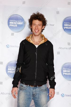 Sam Lee seen at the Barclaycard Mercury Prize Albums of the Year awards 2012 at the Camden Roundhouse, in London
