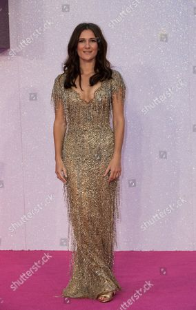 Actor Sarah Solemani poses for photographers upon arrival at the Premiere of the film ridget Jones's Baby', in central London