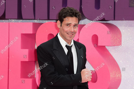 Actor James Callis poses for photographers upon arrival at the World premiere of the film ridget Jones's Baby', in central London