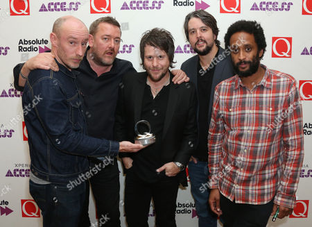 Editorial picture of Britain Q Awards Winners, London, United Kingdom