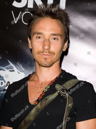 "Filmmaker Rob Stewart attends the Canadian Premiere of ""The Dark Knight Rises"" at One King West Hotel & Residence, in Toronto"