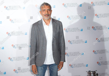 Director Prakash Jha is photographed at a photocall for his film 'Chakravyah' during the London Film Festival at The Empire cinema, Leicester Square on in London, UK