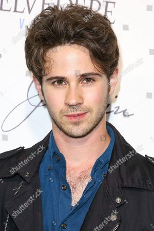 Connor Paolo arrives at the Grand Opening Of Le Jardin, in Los Angeles