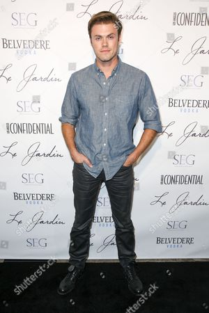 Blake Cooper Griffin arrives at the Grand Opening Of Le Jardin, in Los Angeles
