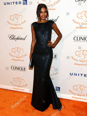 Fashion model Arlenis Sosa attends the Happy Hearts Fund Gala, in New York