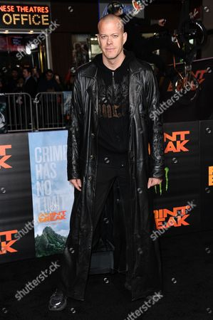 "Editorial photo of LA Premiere of ""Point Break"" - Arrivals, Los Angeles, USA"