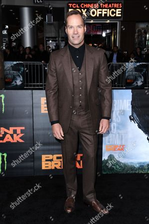 """Actor Bojesse Christopher attends the LA Premiere of """"Point Break"""" held at TCL Chinese Theater on Tuesday, Dec.15, 2015, in Los Angeles"""