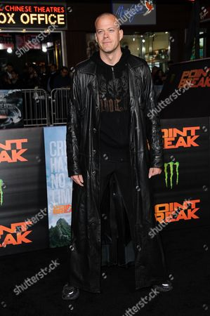 "Stock Image of Jeb Corliss attends the LA Premiere of ""Point Break"" held at TCL Chinese Theater on Tuesday, Dec.15, 2015, in Los Angeles"