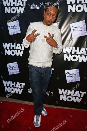 """DJ Quik arrives at the LA Premiere of """"What Now"""" at Laemmle Music Hall, in Beverly Hills, Calif"""