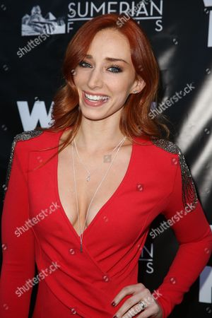 """Najarra Townsend arrives at the LA Premiere of """"What Now"""" at Laemmle Music Hall, in Beverly Hills, Calif"""