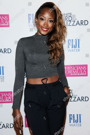 "Keenyah Hill arrives at the LA Premiere of ""White Bird In A Blizzard"", in Los Angeles"