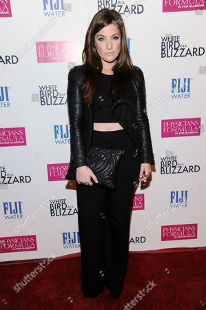 """Mimi Gianopulos arrives at the LA Premiere of """"White Bird In A Blizzard"""", in Los Angeles"""