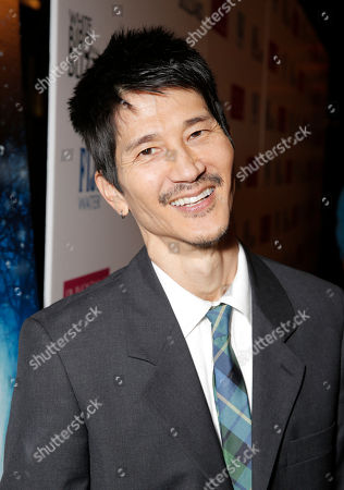 """Gregg Araki arrives at the premiere of """"White Bird in a Blizzard"""" at the ArcLight Hollywood, in Los Angeles"""