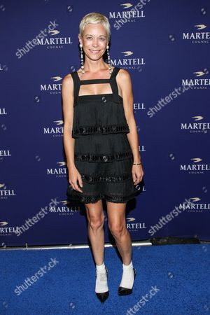 Stock Image of Angie Hill arrives at the launch for Martell Caractere Cognac at The Paramour Mansion on in Los Angeles
