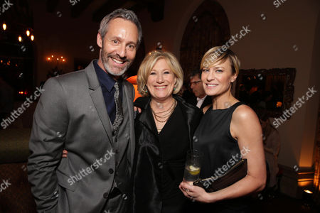 Michel Gill, Jayne Atkinson and Robin Wright seen at Netflix 'House of Cards' Los Angeles Season 2 Special Screening, on Thursday, Feb, 13, 2014 in Los Angeles