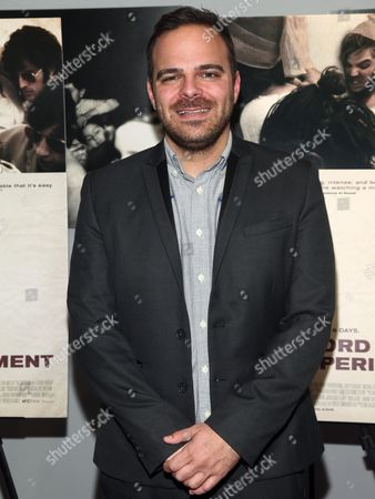 """Kyle Patrick Alvarez attends the """"The Stanford Prison Experiment"""" premiere at the Bow Tie Chelsea Cinemas, in New York"""